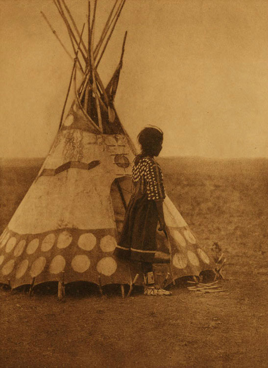 A Piegan Play Tipi